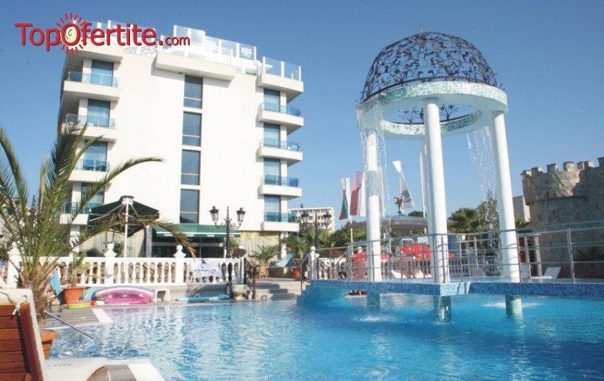 На море в Хотел Китен Бийч 3*, Китен! 1, 3, 5 или 7 нощувки на база All inclusive + басейн, чадър и шезлонг на цени от 45 лв. на човек