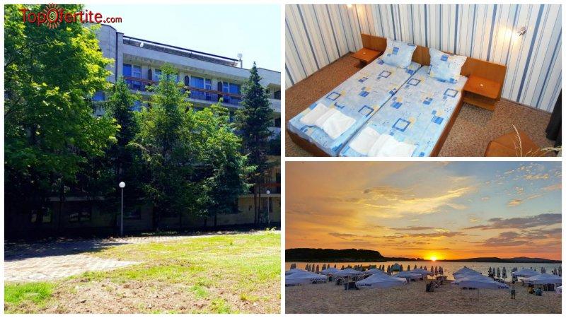 На море в Парк Хотел Атлиман Бийч, Китен Първа линия! Нощувка на база закуски и вечери или закуски, обяди и вечери на цени от 32,75 лв. на човек