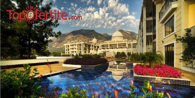 Почивка в Турция, Кемер с полет на 05.07! 7 нощувки на база Ultra All Inclusive в хотел Amara Premier Palace 5*, самолетни билети, летищни такси, трансфер за 1656.50 лв на човек