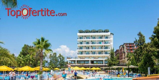 Почивка в Турция, Алания с полет на 05.07! 7 нощувки на база Ultra All Inclusive в хотел Perre Delta Resort & SPA 5*, самолетни билети, летищни такси и трансфер за 1040 лв на човек