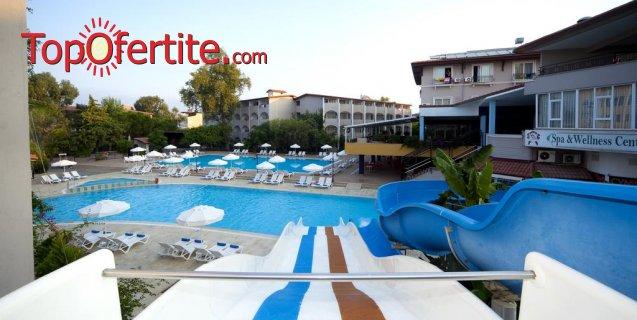 Почивка в Турция, Сиде с полет на 05.07! 7 нощувки на база All Inclusive в хотел Armas Bella Sun 4*, самолетни билети, трансфер и летищни такси за 1072.50 лв на човек