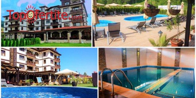 Семеен хотел Алегра 3*, Велинград! Нощувка на база закуски или закуски и вечери + вътрешен и външен минерални басейна, джакузи и Зона за релакс на цени от 38 лв. на човек