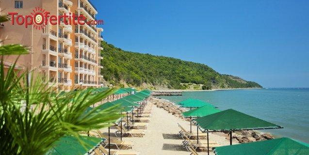 На море в Хотел Роял Бей 4*, Елените! Нощувка на база Аll inclusive + аквапарк, лунапарк, външен басейн, шезлонг и чадър на цени от 67 лв на човек