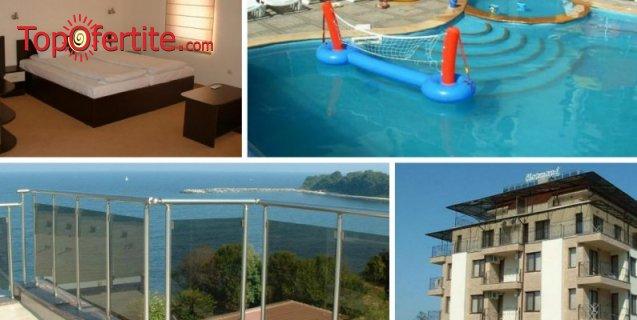 На море в Хотел Хармани, Китен! Нощувка + басейн с детска част, шезлонги и джакузи на цени от 34 лв на ден за цялото помещение