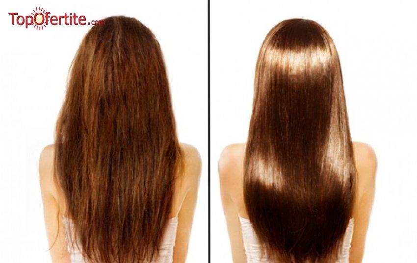 Полиране на коса от студио за красота Надя Стил само за 15 лв.