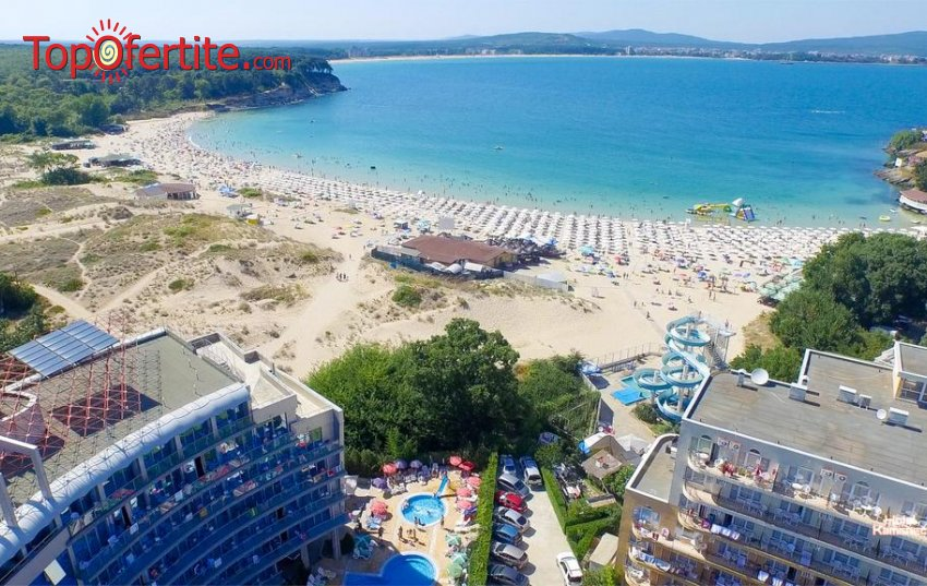 На море в Хотел Каменец, Китен - първа линия! Нощувка на база All Inclusive + басейн на цени от 49,95 лв. на човек