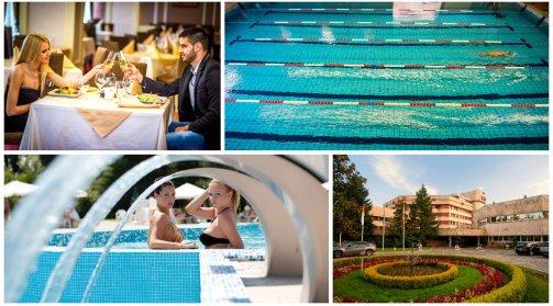 Хотел Хисар 4*, Хисаря! 5 нощувки + закуски, вечери, басейни с минерална вода, СПА пакет на цени от 402,50 лв. на човек