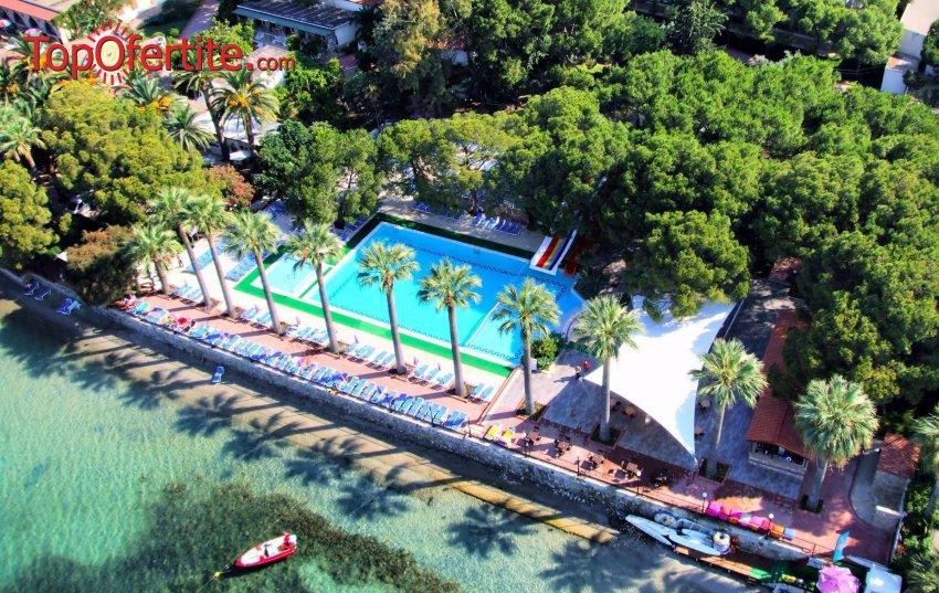 Почивка в хотел Omer Holiday Village 4*, Кушадасъ, Турция! 5 или 7 нощувки с автобус на база All Inclusive на цени от 366.50лв на човек