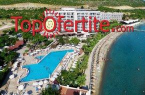 Почивка в Турция, Кушадасъ с автобус! 1 нощувкa със собствен транспорт на база All Inclusive в хотел Tusan Beach Resort 5* на цени от 58 лв на човек