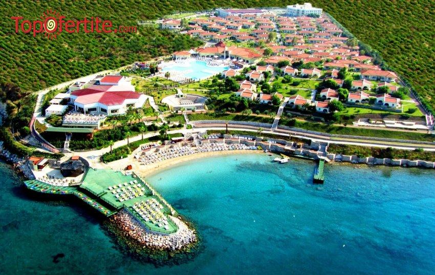 Почивка в хотел Palm Wings Beach Resort Didim 5*, Дидим, Турция! 1 нощувкa със собствен транспорт на база All Inclusive на цени от 61 лв на човек