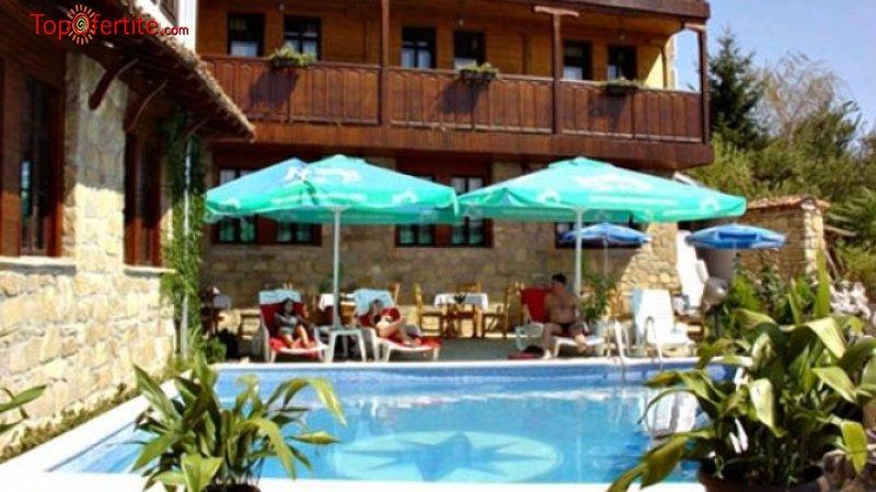 Хотел Перла, Арбанаси! Нощувка на база закуски или закуски и вечери + външен басейн на цени от 27,60 лв на човек