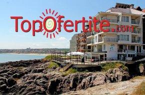 На море в Хотел Свети Никола 3*, Созопол на първа линия! Нощувка + закуска на цени от 28,50 лв. на човек
