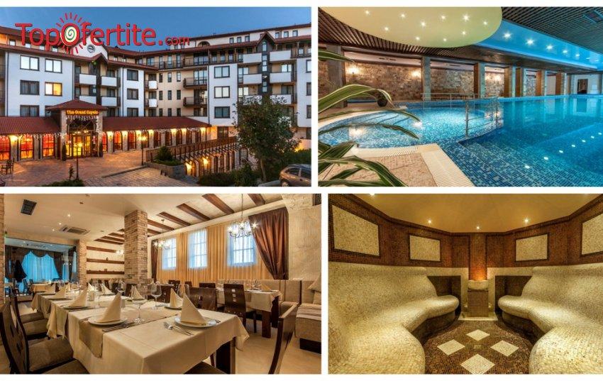 Гранд Рояле Хотел & СПА 4*, Банско! Нощувка + закуска, вечеря, басейн и СПА зона за 44 лв. на човек