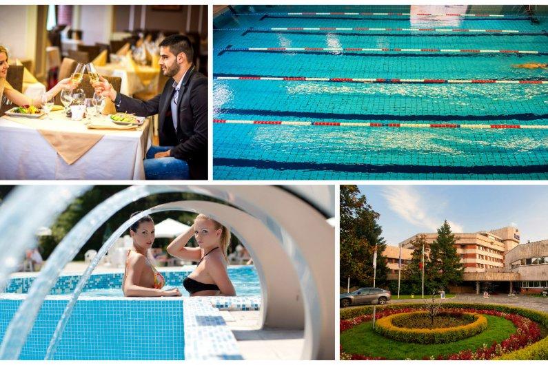 Хотел Хисар 4*, Хисаря! 5 нощувки + закуски, вечери, басейни с минерална вода, СПА пакет на цени от 402, 50 лв. на човек