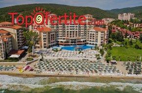 На море в Хотел Роял Парк 4*, Елените първа линия! Нощувка на база Аll inclusive + аквапарк, лунапарк, външен басейн, шезлонг и чадър на цени от 67 лв. на човек