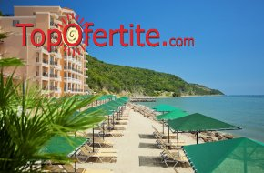 На море в Хотел Роял Бей 4*, Елените! Нощувка на база Аll inclusive + аквапарк, лунапарк, външен басейн, шезлонг и чадър на цени от 56,95 лв на човек