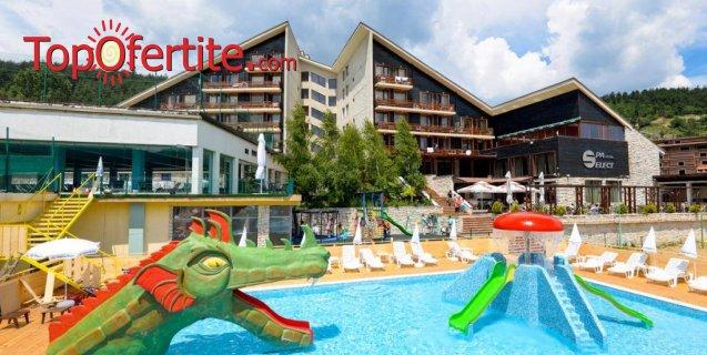 СПА Хотел Селект 4*, Велинград! Нощувка + закуска, вечеря, закрит топъл минерален басейн с полу-олимпийски размери и Уелнес пакет за 49 лв на човек