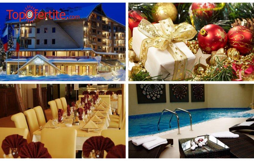 Коледа в Хотел Айсберг 4*, Боровец! 2, 3, 4, 5 или 6 нощувки + закуски, вечери и топъл басейн на цени от 128 лв. на човек