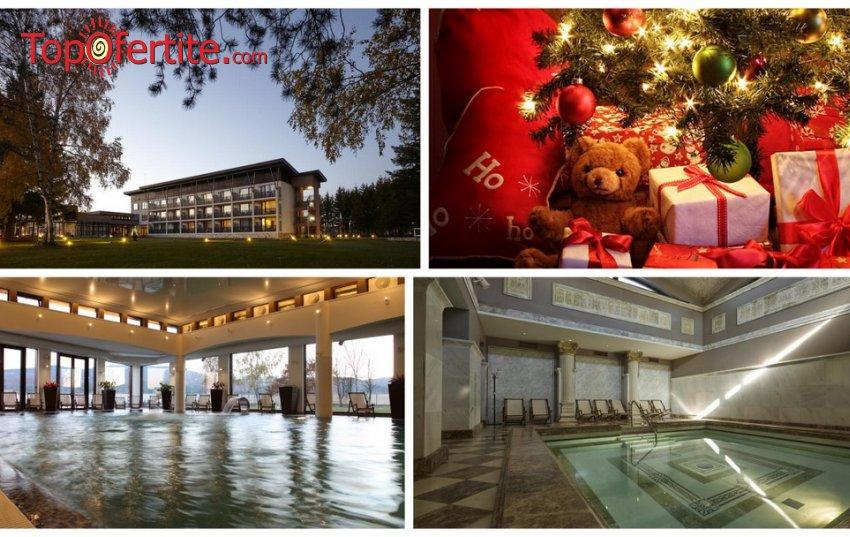 Коледа в СПА хотел Белчин Гардън 4*, Белчин Баня! 4 или 5 нощувки + закуски, Традиционна вечеря за Бъдни вечер, Празнична Коледна вечеря, Празнична музикална и фолклорна програма, открит и закрит минерален басейн и Уелнес пакет на цени от 380 лв. на ..