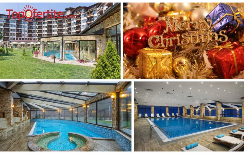 Коледа в Балнео хотел Свети Спас 5*, Велинград! 3, 5 или 7 нощувки + закуски, вечери, Традиционна вечеря на 24.12, Празнична Коледна вечеря, Коледни подаръци, Детско парти, всекидневна детска анимация и Уелнес пакет на цени от 307,50 лв. на човек