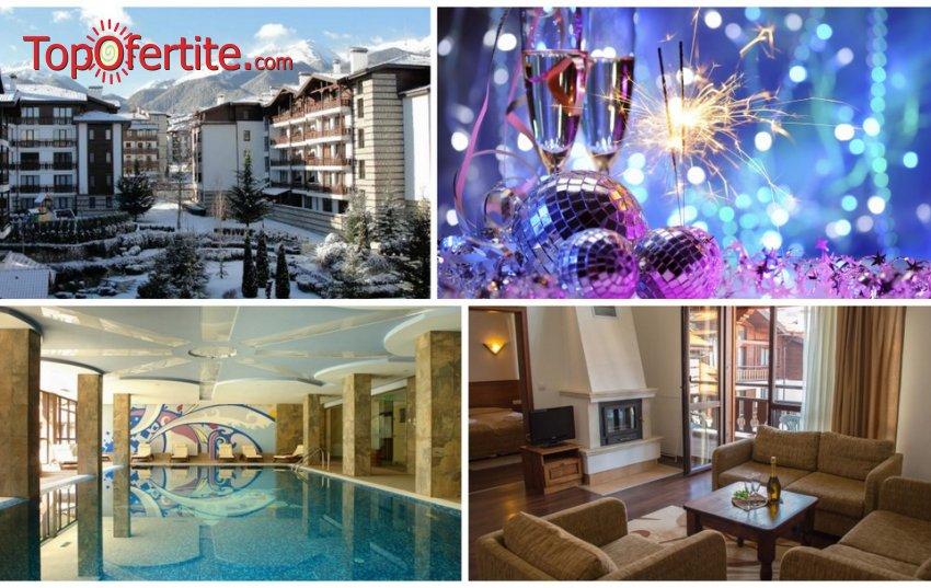 Нова Година в Хотел Уинслоу Инфинити 3*, Банско! 3 нощувки в студио или апартамент + закуски, вечери, Празнична вечеря на 31.12, отопляем басейн, джакузи и Уелнес пакет на цени от 490 лв на човек