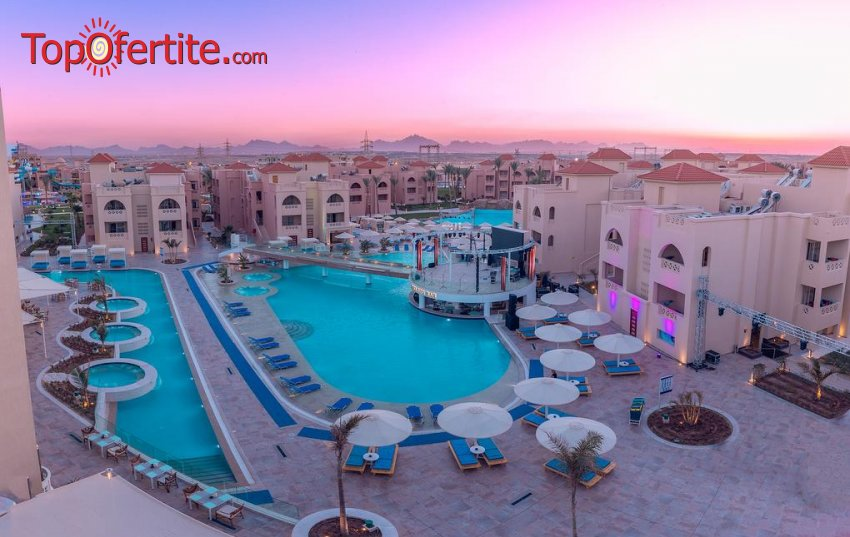 Ранни записвания за почивка в Египет със самолет! 7 нощувки на база All Inclusive в хотел Albatros Aqua Blu Resort 4*, самолетни билети, летищни такси и трансфер за 1061.50 лв на човек