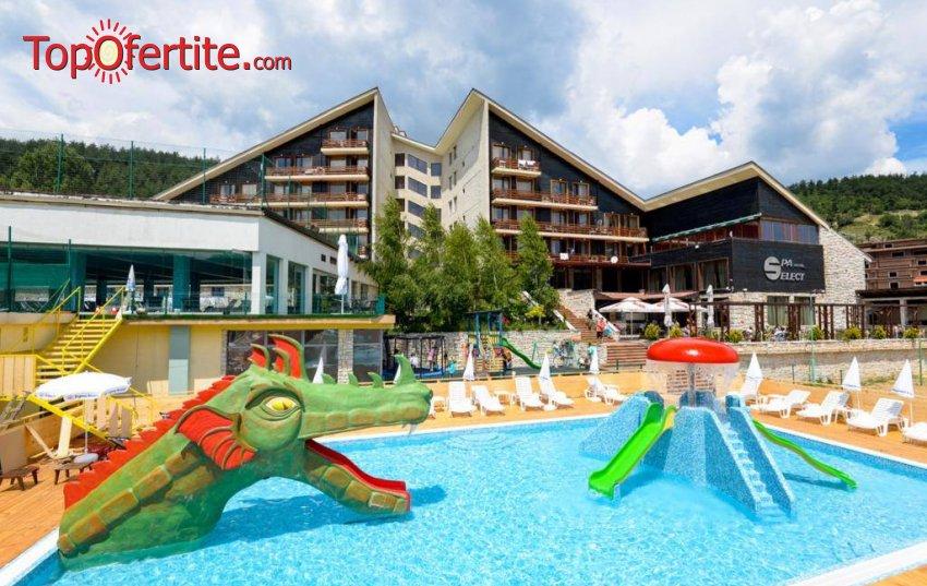 СПА Хотел Селект 4*, Велинград! Нощувка + закуска, вечеря, закрит топъл минерален басейн с полу-олимпийски размери и Уелнес пакет за 55 лв на човек