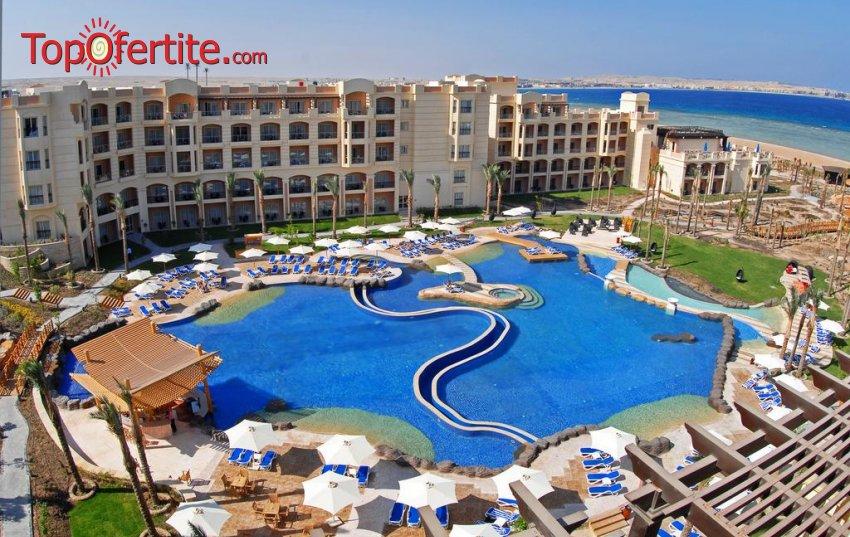 Ранни записвания за почивка в Египет със самолет! 7 нощувки на база Tropitel Elite AI в хотел Tropitel Sahl Hashesh 5 *, самолетни билети, летищни такси и трансфер за 1192 лв на човек