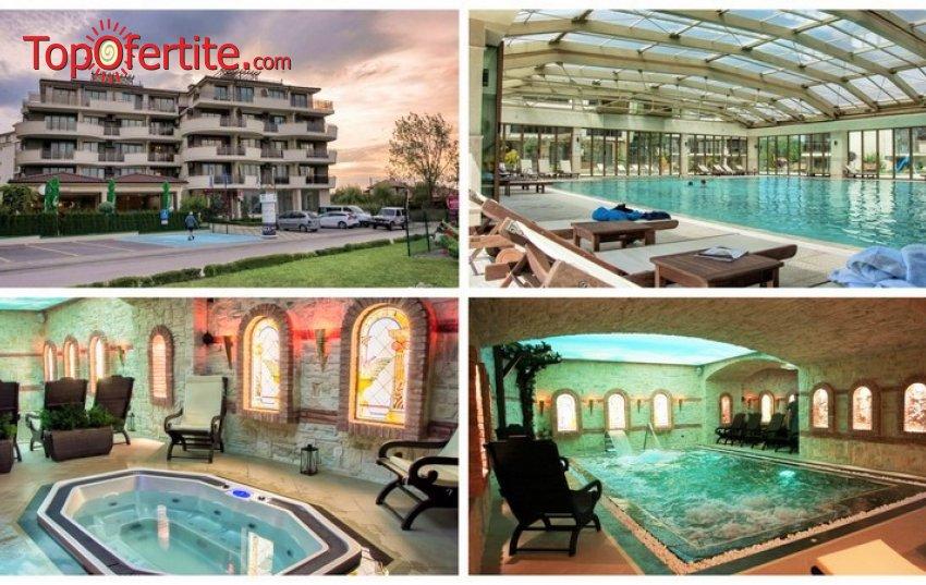 СПА в Хотел Long Beach Resort & SPA 5*, Шкорпиловци! Нощувка на база All Inclusive Light + 1 безплатна процедура и отстъпка от всяка следваща, басейн с минерална вода и термална зона на цени от 71 лв. на човек