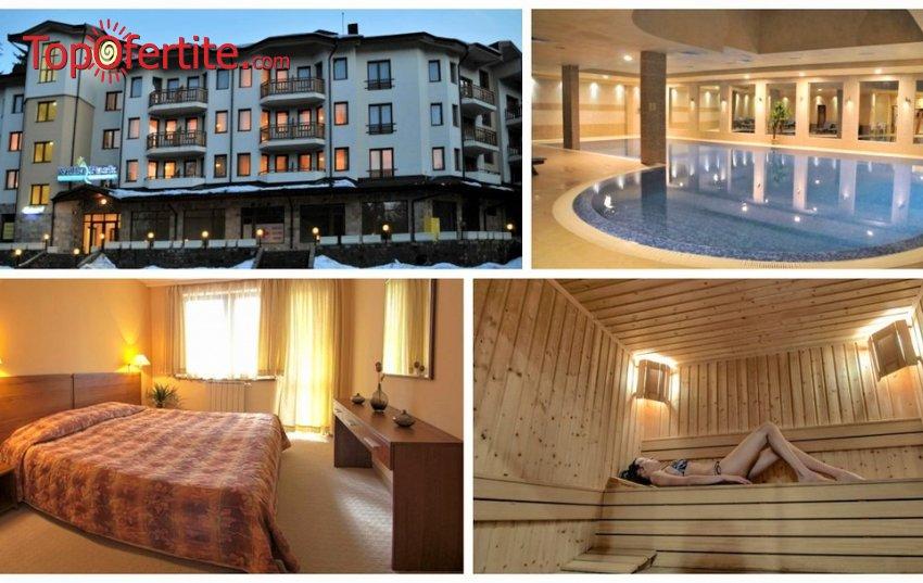 Апартаменти за гости Вила Парк, Боровец! Нощувка + закуска или закуска и вечеря + 14-метров вътрешен отопляем басейн, Уелнес пакет на цени от 46,50 лв. на човек