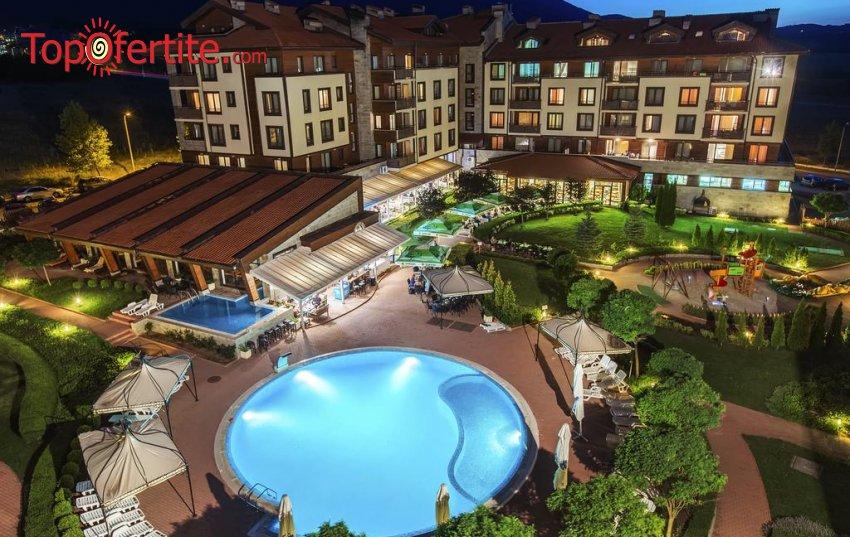 Клуб Хотел Мурите 4*, до Банско – Разлог! Нощувка на база All Inclusive + вътрешен отопляем басейн, транспорт до лифта, джакузи и СПА на цени от 61 лв. на човек и дете до 14г. Безплатно