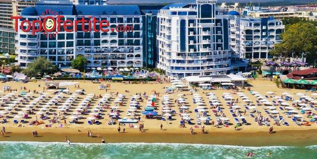 Ранни записвания! На море в Хотел Чайка Бийч Ризорт 4*, Слънчев бряг, Първа линия! Нощувка на база Аll inclusive + 2 външни басейна, шезлонг и чадър на цени от 49 лв на човек