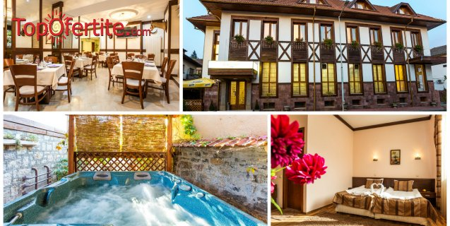Хотел Тетевен! 2 или 3 нощувки + закуски, 2 вечери, басейн, джакузи и сауна за 75 лв на човек