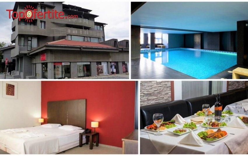 Ривърсайд Бутик хотел 4*, Банско! 4 нощувки + закуска или закуска и вечеря, напитки, Частичен масаж, топъл басейн и Уелнес пакет на цени от 176 лв. на човек