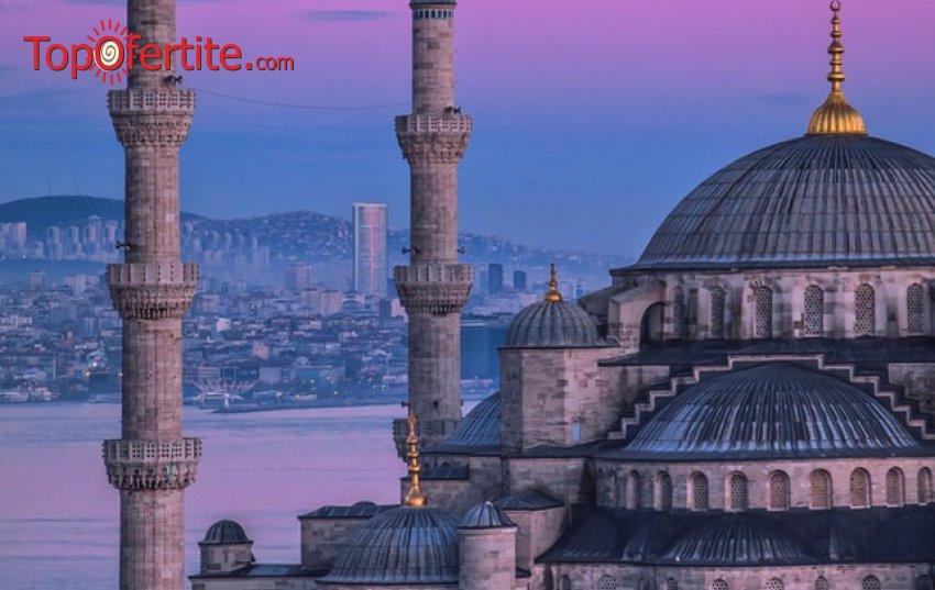 4-дневна екскурзия до Истанбул за Свети Валентин + 2 нощувки със закуски, транспорт и екскурзоводно обслужване за 99 лв.