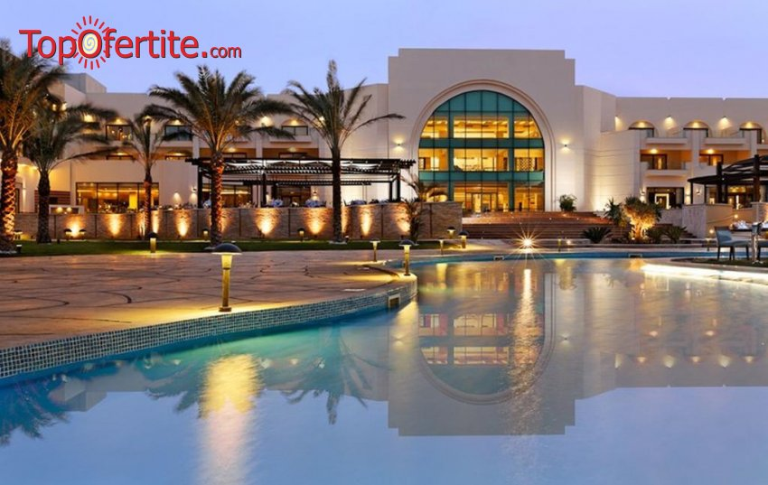 Почивка в Египет със самолет! 7 нощувки на база All Inclusive в хотел Movenpick Resort Soma Bay 5 *, самолетни билети, летищни такси и трансфер за 885.50 лв. на човек