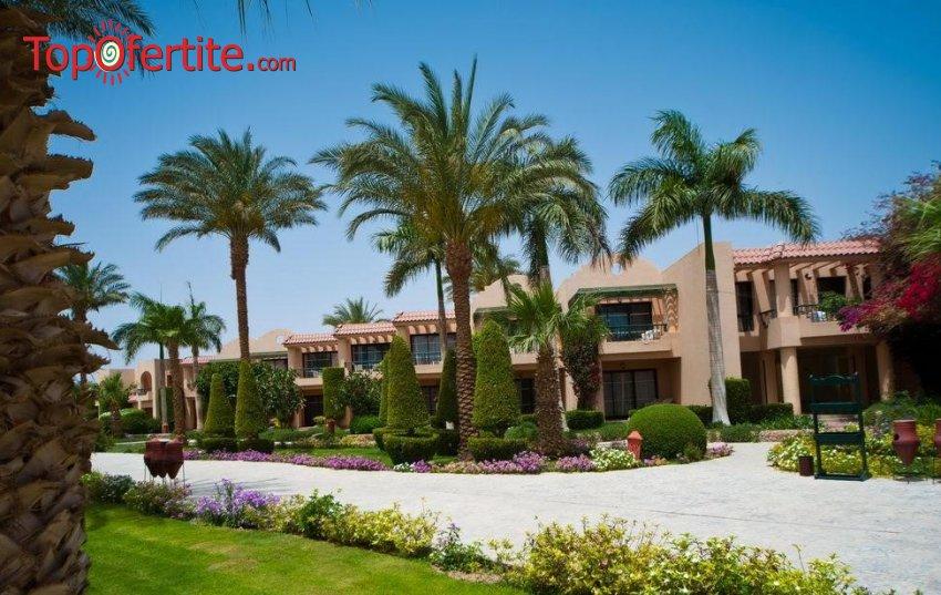 Почивка в Египет със самолет! 7 нощувки на база All Inclusive в хотел Ali Baba 4 *, самолетни билети, летищни такси и трансфер за 1150.50 лв. на човек