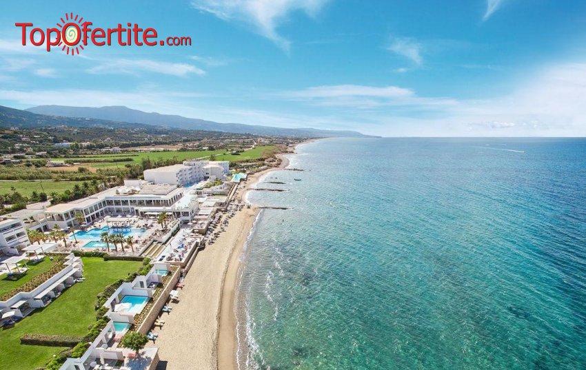 Почивка на остров Крит! 7 нощувки + самолетен билет, летищни такси и трансфер на цени от 1076 лв на човек