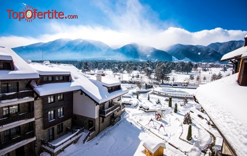 Хотел Балканско Бижу 4* Банско! 1, 2 или 3 нощувки, отопляем вътрешен басейн, джакузи и СПА пакет за 28 лв. на човек