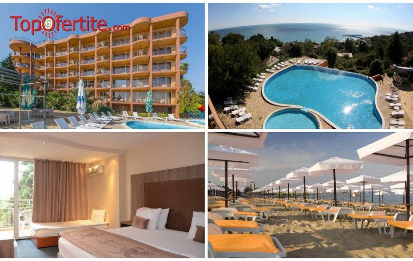На море в Хотел Бона Вита, Златни пясъци! Нощувка на база All inclusive + басейн, лифт до собствен плаж, чадър и шезлонг на плажа на цени от 38 лв. на човек