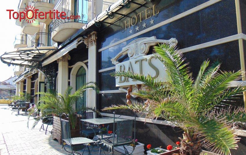 Почивка в СПА хотел БАЦ 4*, Петрич! Нощувка с възможност за закуска и вечеря + басейн с топла минерална вода, сауна и парна баня за 39 лв на човек