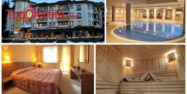 Апартаменти за гости Вила Парк, Боровец! Нощувка + закуска или закуска и вечеря + 14-метров вътрешен отопляем басейн, Уелнес пакет на цени от 24, 90 лв. на човек