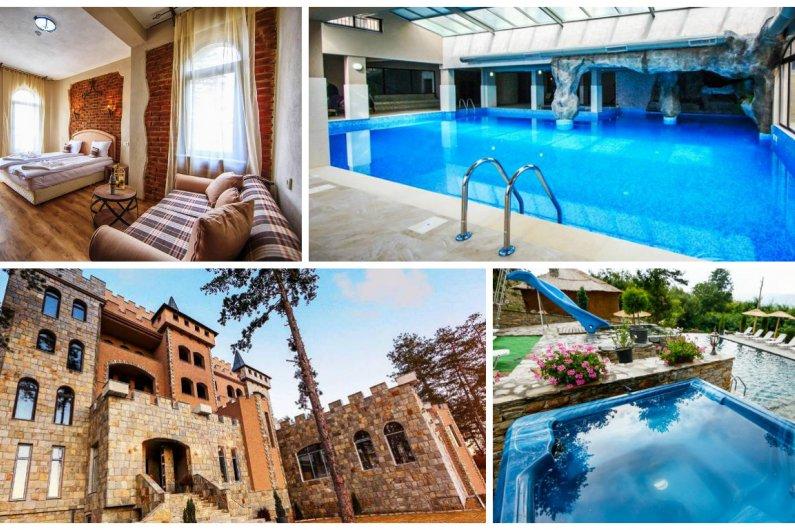Хотел Валентина Касъл Hotel & SPA, Село Огняново! Нощувка + закуска, СПА зона, вътрешен топъл и външен мин. басейн, опция за вечеря, за 47, 50 лв. за един човек