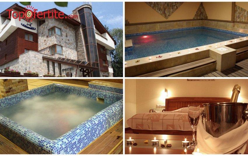 Лъки Лайт Бутик Хотел & СПА 4*, Велинград! Нощувка + закуска, вечеря, минерален басейн, парна баня, сауна, джакузи и Релакс пакет на цени от 53,90 лв. на човек
