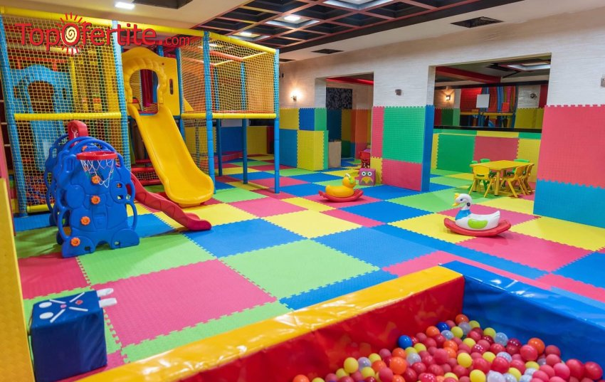 Детски рожден ден с включени менюта за 10 или 15 деца и родители + новооткрита детска зала и аниматор в Ресторант - градина Слатина на цени от 247 лв