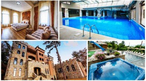 Хотел Валентина Касъл Hotel & SPA, Село Огняново! Нощувка + закуска, СПА зона, вътрешен топъл и външен мин. басейн, опция за вечеря, за 47,50 лв. за един човек