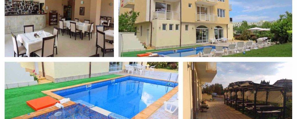Хотел Сага 3*, Равда! Нощувка + закуска, вечеря и ползване на басейн на цени от 33 лв. на човек