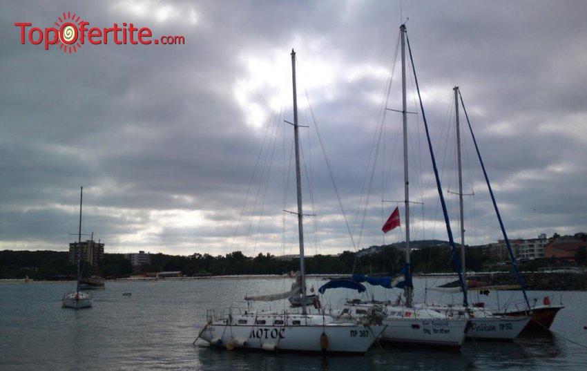На море в Хотел Зонарита 2*, Приморско! Нощувка + закуска, вечеря и 1 час разходка с Яхта на цени от 24 лв. на човек