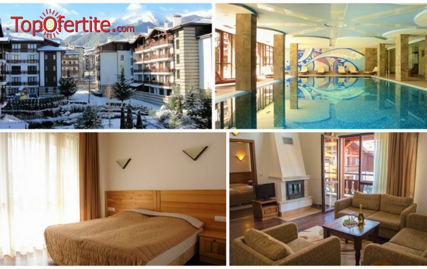 Хотел Уинслоу Инфинити 3*, Банско! 1 нощувка в студио или апартамент с опция за закуска и вечеря, отопляем басейн, джакузи и Уелнес пакет за 36 лв.