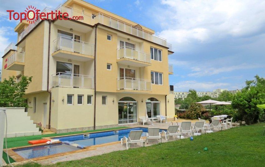 Хотел Сага 3*, Равда! Нощувка + закуска и басейн на цени от 55 лв. за помещение